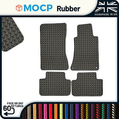 Custom Rubber Car Mats to fit Mercedes C-Class Saloon Estate 2000-2007