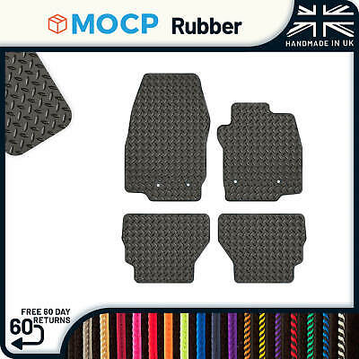 Custom Rubber Car Mats to fit Ford B-Max 4 Clips 2015-present