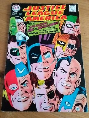 Justice League of America #61 mid to high  grade