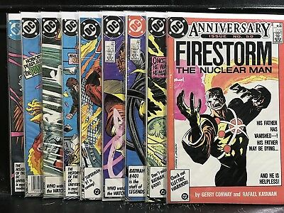 Lot of 9 Fury of Firestorm #50 52 53 54 55 56 57 58 59 (1987 DC) Shipping Deal!