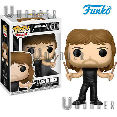 LARS ULRICH # 58 Funko POP Vinyl Figure Rocks METALLICA cult band musica rock