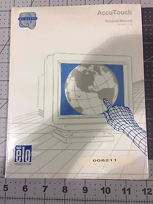 Elo  # 008211  Accutouch Product Manuals