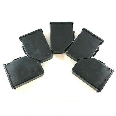 5.56mm Saw Plastic Ammo Box Pack, Military Army Issue 200 Round Drum