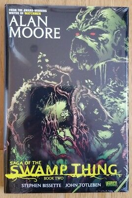 Alan Moore Saga of the Swamp thing book two Steve Bissette Hardcover Hc Volume 2