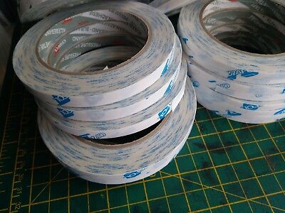6 / 10 / 12 mm. Double-sided adhesive hemming web tape for sewing fabric leather