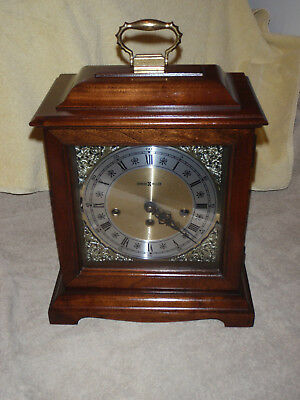 Howard Miller Westminster Chime Mantel Clock Franz Hermle 340-020 Beautiful!