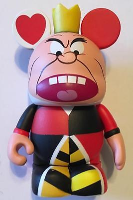 "QUEEN OF HEARTS Villain Alice in Wonderland #1 Set Disney VINYLMATION 3"" Figure"