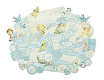 *A&B* KAISERCRAFT Scrapbooking Collectables - Peek-a-boo - Boy - CT867