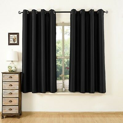 Luxury Blackout Thermal Polyester Living & Bed Room Window Curtain With Eyelet