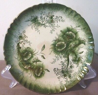 Early Myott (GTM Stoke pottery) -Clyde- plate. Ca 1889