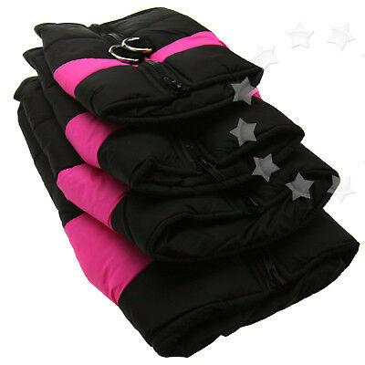 Winter Warm Padded Dog Clothes Waterproof Pet Coats Vest Jacket for Dogs 4 Sizes