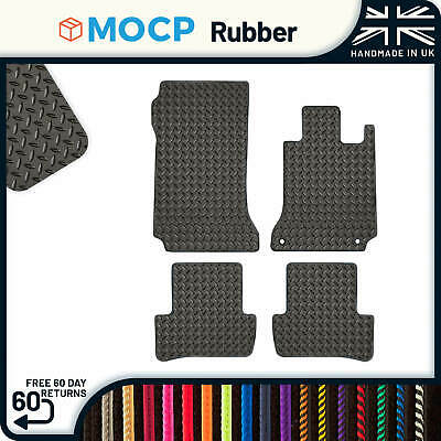 Custom Rubber Car Mats to fit Mercedes C-Class W204 Saloon Automatic 2007-2014