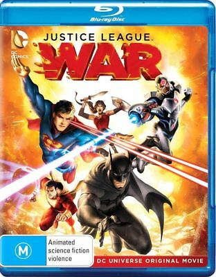 JUSTICE LEAGUE WAR (Region B) Blu-ray DC Comics Flashpoint Paradox Doom