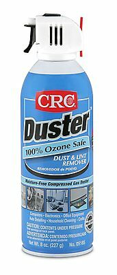 CRC Duster Moisture-Free Dust and Lint Remover 12 Pack