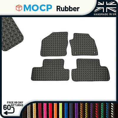 Custom Rubber Car Mats to fit Ford C-Max No Clips 2003-2011