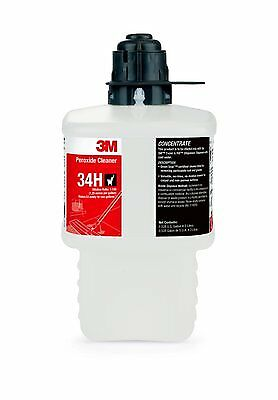 3M 59288 2 Liter 34H Peroxide Cleaner Concentrate Gray Cap (1 Bottle)