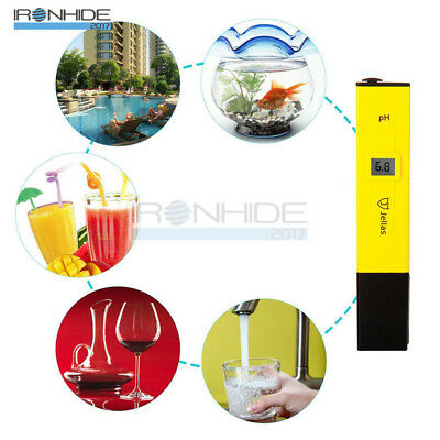 Mini LCD Digital Pen Aquarium liquid Test Meter Measure PH value Tester