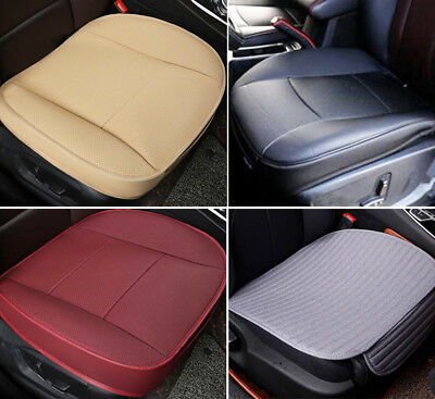 Universal Car Seat Cover Protector PU Leather Deluxe Cushion 3 Color Front Seat