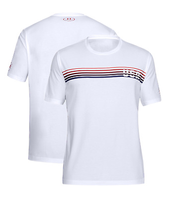Under Armour 1305179 Men's UA Freedom USA Chest Lines Graphic T-Shirt