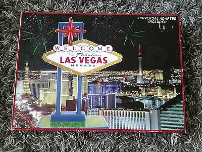 Flashing Las Vegas sign Unused with box 14 inches tall