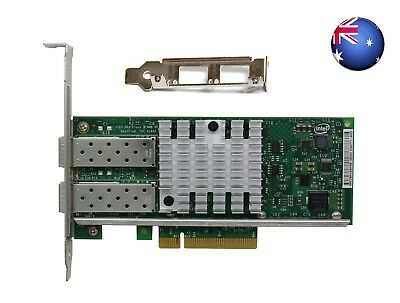 Intel 82599ES X520-DA2 10Gb/S PCl-E Dual Port E10G42BTDA Ethernet Server Adapter