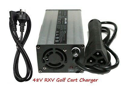AU 48V/6A EZGO RXV Plug Golf Cart Battery Charger EZ-GO TXT Club Car DS TXT New