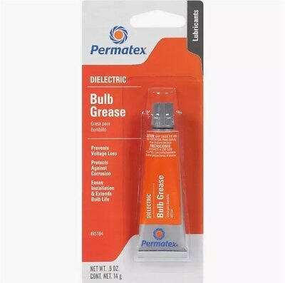 PERMATEX 85184 Dielectric grease for bulbs and switch contacts, 14g. NEW
