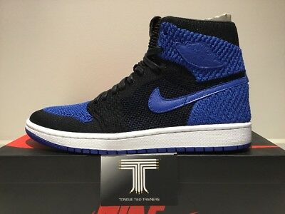 "buy online b6b2b 277e6 Nike Air Jordan 1 Retro Hi Flyknit ""Game Royal"" ~ 919704 006 ~ Uk"