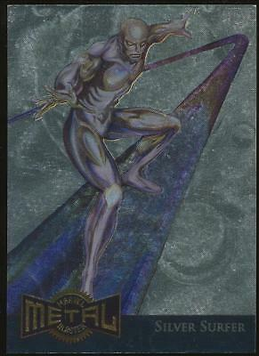 1995 Marvel Metal Blaster Gold Trading Card #11 Silver Surfer