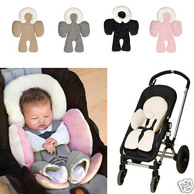 Newborn Baby Car Seat Stroller Cushion Pad Liner Mat Head Body Support Pillow AL