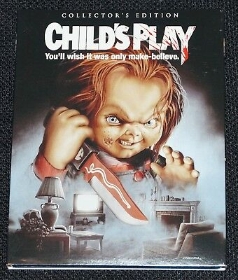 CHILD'S PLAY Slipcover ONLY Collectors Edition - SHOUT SCREAM FACTORY Chucky