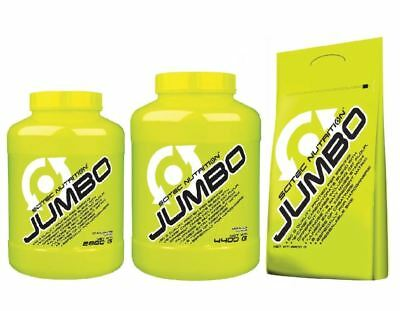 5a01567bf Scitec NUTRITION JUMBO PROTEIN WEIGHT GAINER ADDED CREATINE BCAA  s  L-LEUCINE
