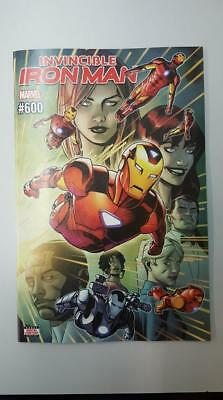 Marvel Comics: Invincible Iron Man #600 Jul 2018 - BN Bagged and Boarded