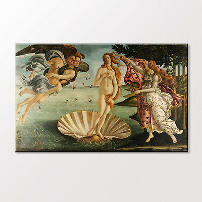 Canvas Art Print World Famous Painting The Birth Of Venus by Sandro Botticelli