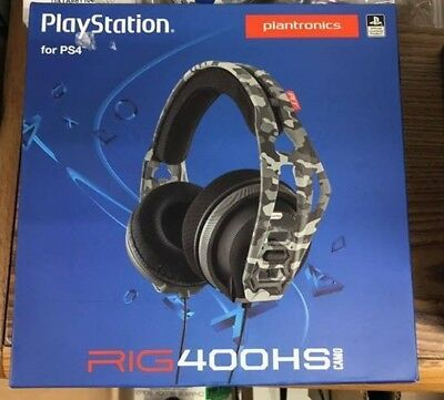 PLANTRONICS PlayStation 4 Headset - Rig 400HS Camo - PS4 - FREE SHIPPING