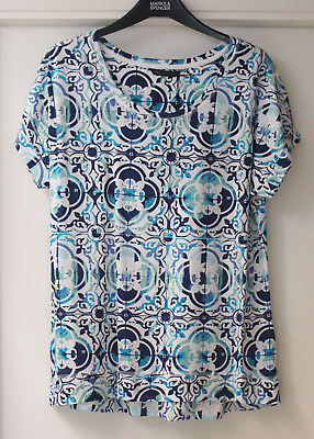 Ladies M/&S Collection Size 14 A Line Top