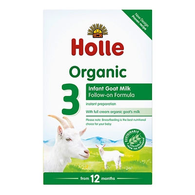 Wow!!! 4 Boxes Holle Organic Goat Milk Formula Stage 3 400g