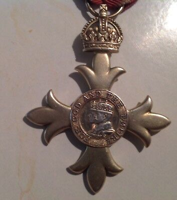 Extremely Rare!!nepal!!member Of The Order Of The British Empire.king George V 2
