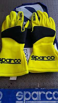 Gaunti Sparco Omologati Fia Tide Mg-9 Racing Gloves Yellow
