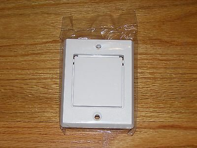 """Central Vacuum Exhaust Vent Vac Hayden Outlet Outside 2"""" PVC Vacuflo Beam Nutone"""