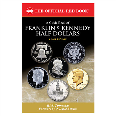 Guide Book of Franklin and Kennedy Half Dollars by Tomaska from Whitman 3rd
