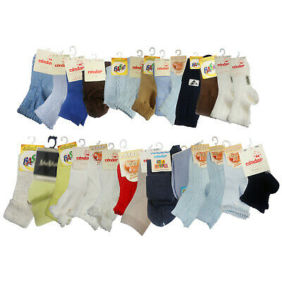 Lot 12 pair Kid Crew Ankle Socks Toddler Boys Casual Multi Color Sock  4-5 Yrs