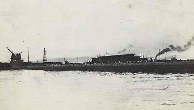 OLD VINTAGE ANTIQUE REAL PHOTO POSTCARD RPPC of PANAMA CANAL