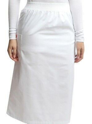 Scrub White Skirt with Cargo Pockets - Apple