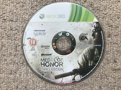 MEDAL OF HONOR Tier 1 Edition - Xbox 360 DISK ONLY UK PAL - $2 02