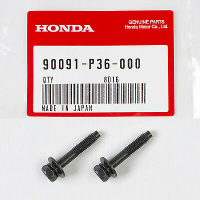 Genuine OEM Honda/Acura Engine Air Filter Box Cover Bolt 90091-P36-000 (2 Pack)