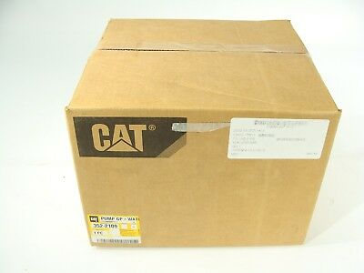New Genuine OEM Caterpillar Water Pump P/N 352-2109 C7 C9 ++ W/ Gasket & Elbow