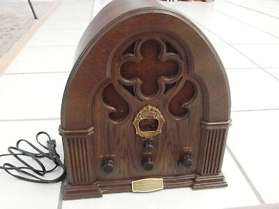 Special Ed. Baby Grand Philco Ford Model R-90 Vintage Cathedral Radio Repro.
