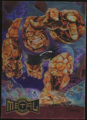 1995 Marvel Metal Blaster Trading Card #14 Thing