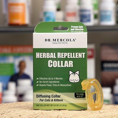 Herbal Repellent Flea and Tick Collar for Cats & Kittens